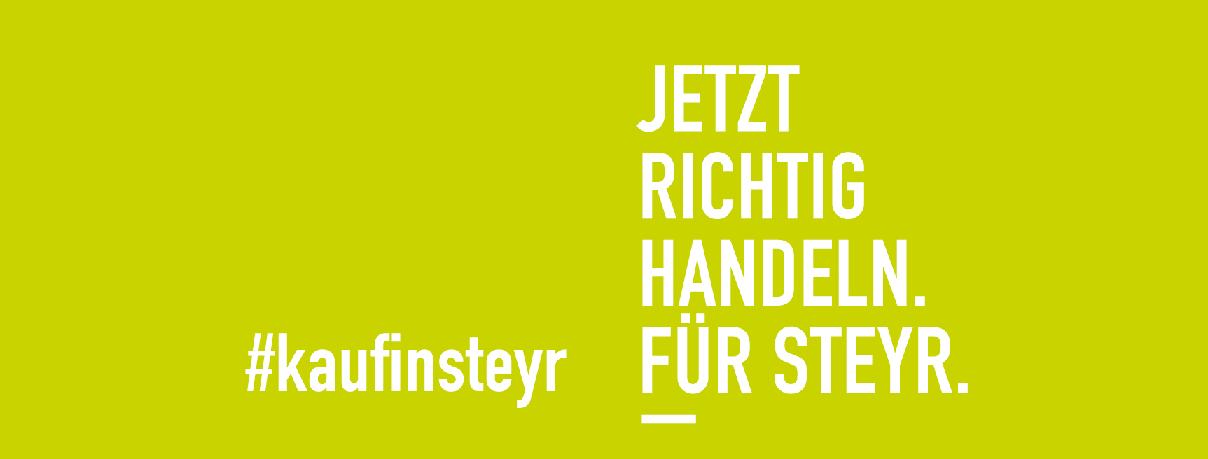 Banner Stadtmarketing kaufinsteyr