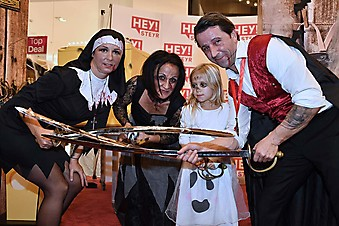 Coole Kids-Halloweenparty mit Magie Show von Michael Late im HEY!